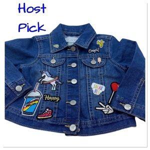💥Host Pick💥Children's Place denim jacket